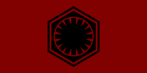 The First Order Flag by JMK-Prime