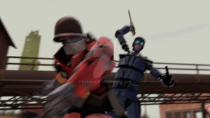 SFM Poster: Meet the Robot Soldier by PatrickJr