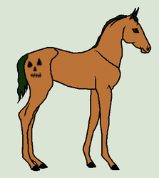 Mystery Halloween Adopt #1 - WildForests-Stables by mkayswritings