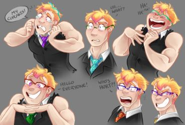 Brutus - Expressions by Arianwen44