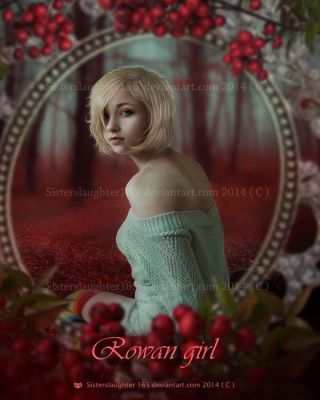 Rowan girl by Sisterslaughter165