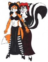 Laylah's Dress Up Time I by fox-mccloud