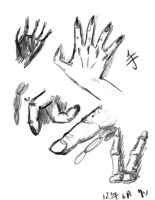 Hand practice 1 by D-g-A
