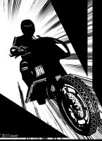 Street Hawk by Tom Kelly by TomKellyART