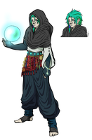 HunterxHunter Oc: Mahem Kuzsman by GrimaceJester