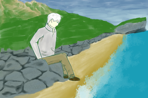 Mushishi - The Long Road by LuthNightbreeze