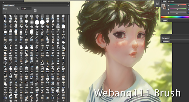 Webang111 Brushes by tony200397