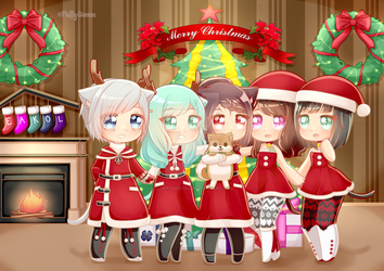 [CM]: XMas gathering! by FluffyQueenz