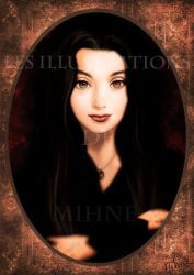 Morticia Addams by Mihne-Art