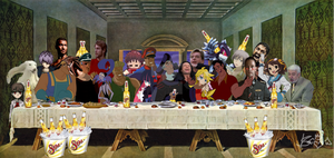 The_Last_Supper_Allies_Frollo by Moe-Machine