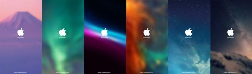 Pack 6 Wallpapers for iPhone 6/S and Plus! by WilliamUI