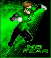 Green Lantern - No Fear by What-the-Gaff