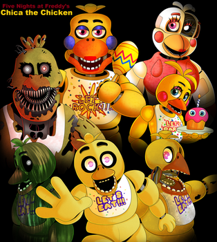 FNAF - The Chica Series by SerifDraws