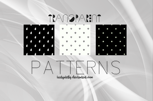 Transparent Patterns by ISatQuietly