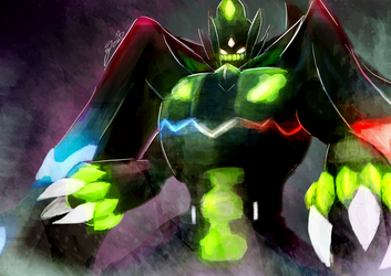 Zygarde PERFECT Form by takugirl