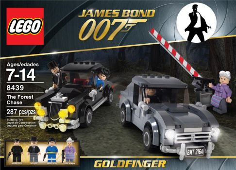 James Bond Lego Set 3 by Jeffach