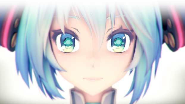 [MMD in Blender] Custom contact lens (Tutorial) by DS-DNA
