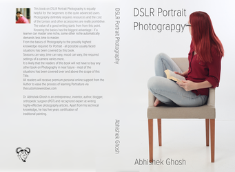 DSLR Portrait Photography Book Cover by AbhishekGhosh
