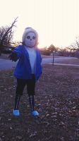 Sans Cosplay by Cheezitss