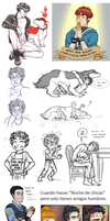 PG - Sketchdump Infinito by PaperZombiie