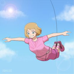 (Comm) Bungee Jumping Serena by ipokegear
