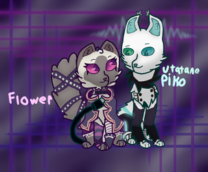 Floko Kitties!! by TheColorlessCat