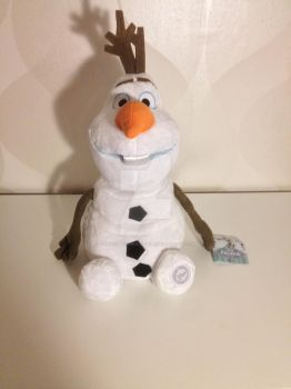 Olaf Disney Store Plush by CorneliaTheWolfLover