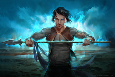 Kaladin by soyabeansoldier