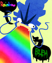 RAINBOW BLEH :pkmn: by WolfyTails
