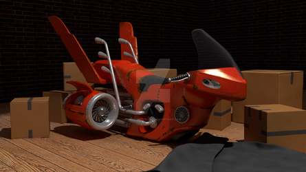Hover-Bike by Davros-the-2nd