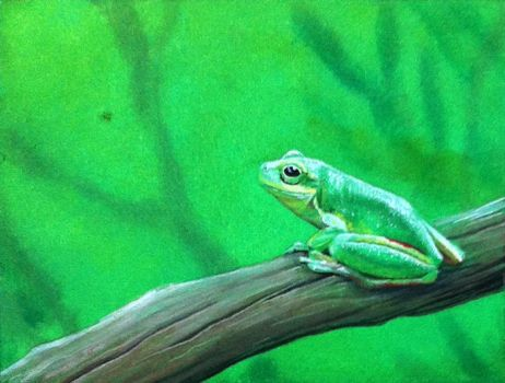 Frog Painting by Krats