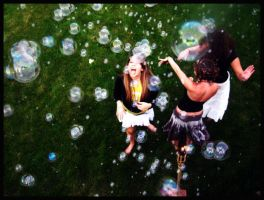 bubbles. by weatherreports