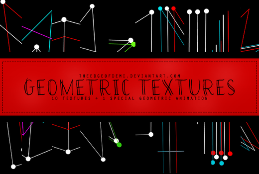 Geometric Textures Pack by TheEdgeOfDemi
