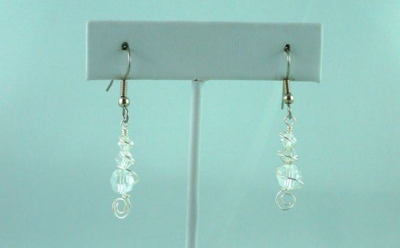 Water Drop Earrings by michelleaudette