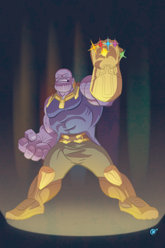 Thanos by universe-K