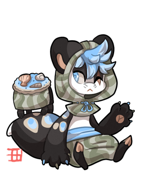 #1095 Nomnom BB - Shell cookies - Auction by griffsnuff