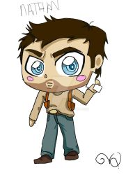 Nathan chibi by QueenLionz