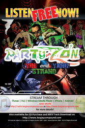 Party-Zon Streaming Poster F by XTREEMMAK