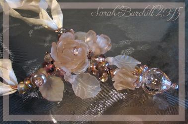 Dawnblossom necklace in glass - full view by fairyfrog
