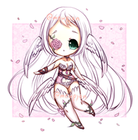 ADOPTS: Angelic Rose [CLOSED] by Mewpyonadopts