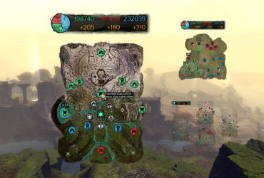 Guild Wars 2 World vs World Map Overlay by killall-q