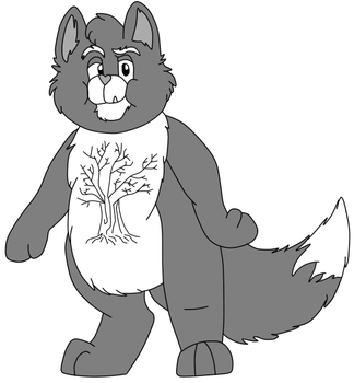 Timber Heart Wolf by Mousey-Heart-Cat