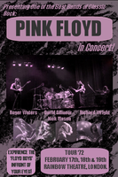 Pink Floyd Concert Flyer by CuttingMouses