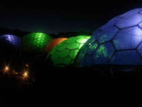 Eden Project domes by SeverinsSon