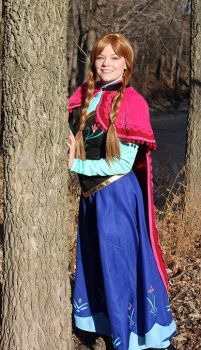 Anna Cosplay by Mae-Colette