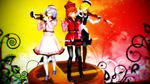 Smash Bros Trophy Prismriver Sisters 2560x1440 by headstert