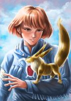 TRibute to Nausicaa of the Valley of Wind by psychee-ange