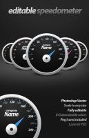 Editable Speedometer by Rafael-Olivra