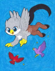Hippogriff by ilovepinkhair
