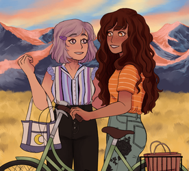 a bike ride by night-sprout